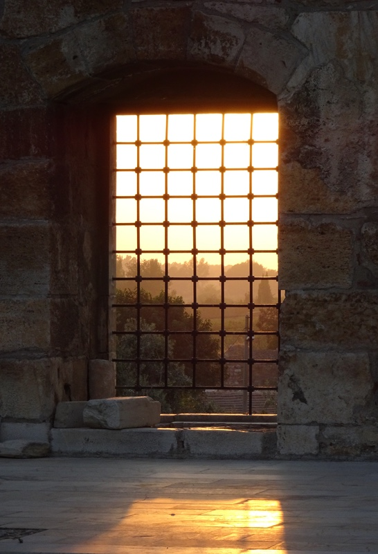 Sunset from isa bey mosque window