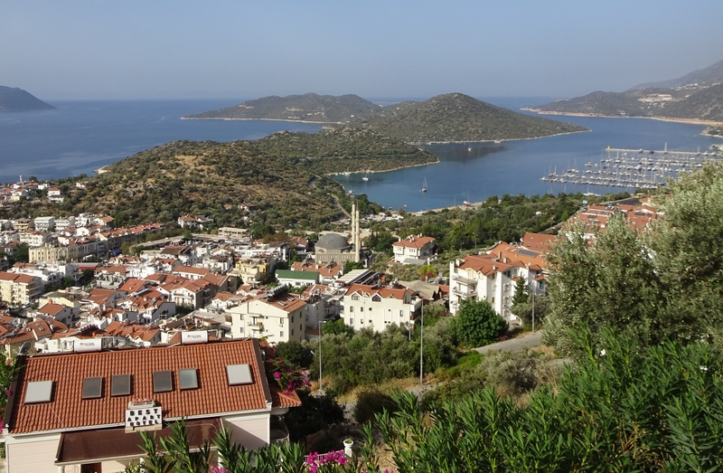 A view of Kaş
