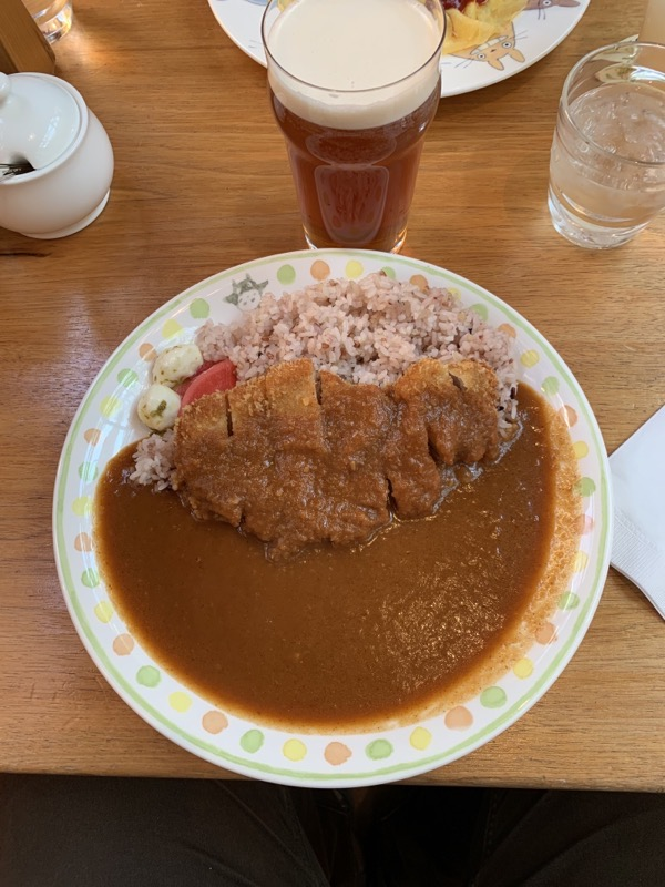 Curry and Ale from the Straw Hat Café