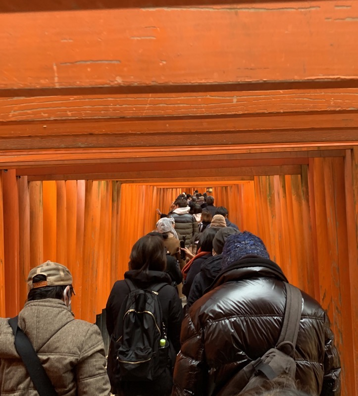 fushimi inari headroom