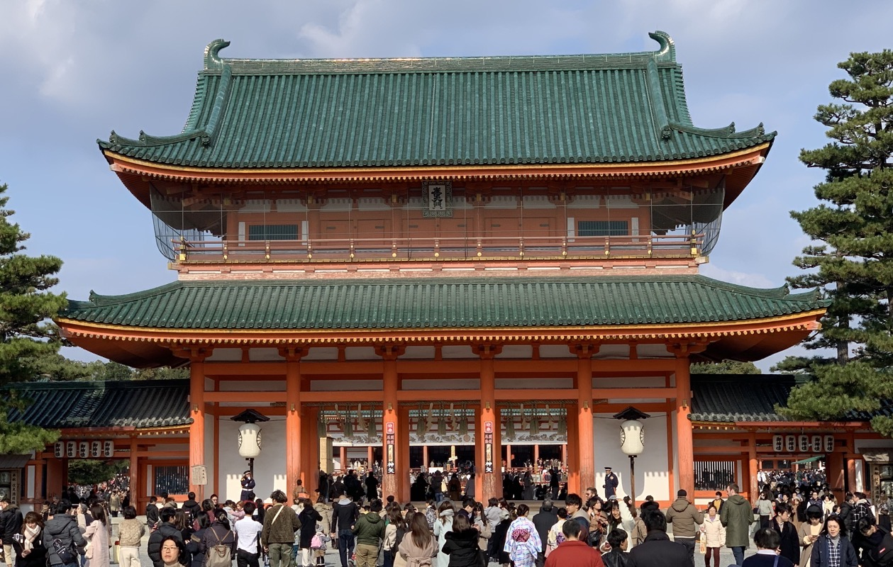heian shrine gate