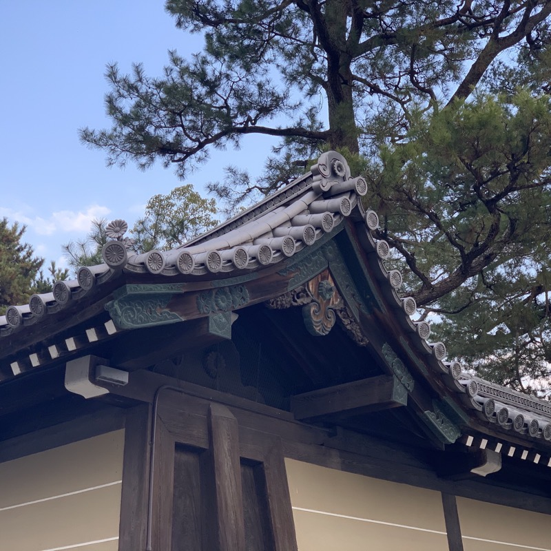 imperial palace detail