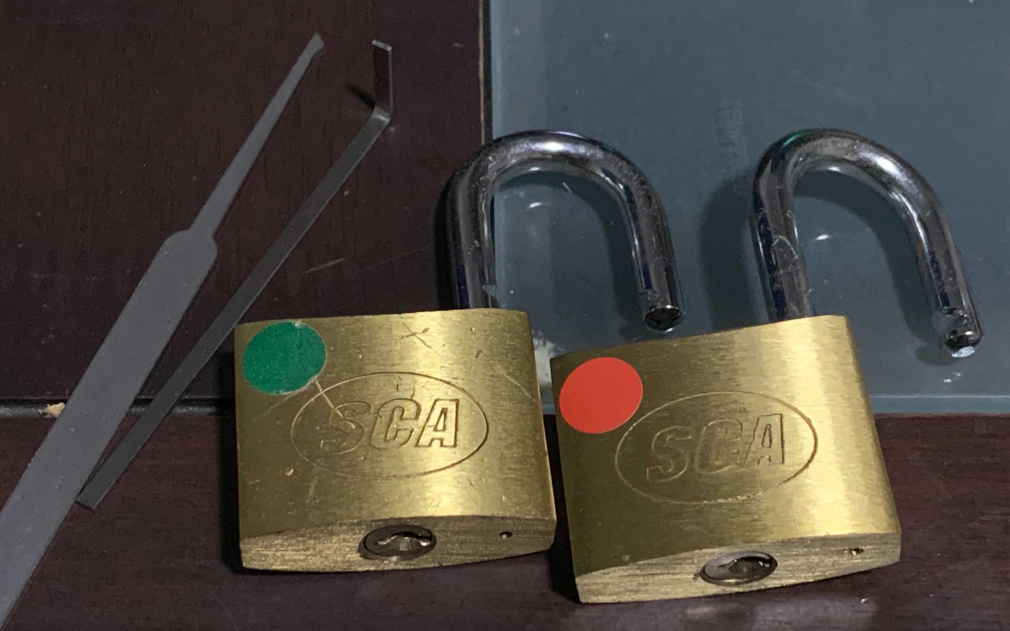 disappointing Supercheap Auto padlocks