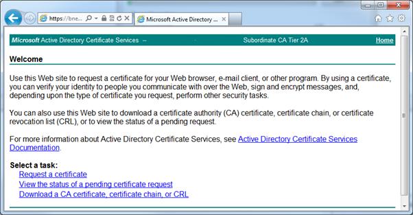 Splunk web interface ssl certificates microsoft ad ca log into your microsoft active directory certificate services machines web interface generally httpshostnamecertsrv yadclub Images
