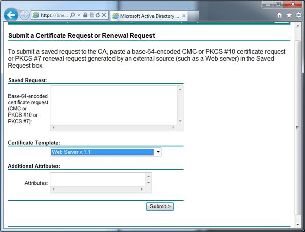 Splunk web interface ssl certificates microsoft ad ca generate the certificate yadclub Gallery