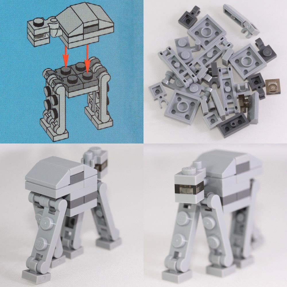 The fearsome AT-AT, in micro-scale!